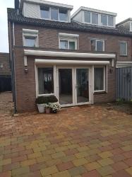 Uitbouw aan woning te Roosendaal
