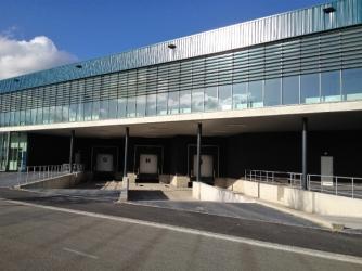 Nieuwbouw bedrijfspand met Dock Shelters te Roosendaal