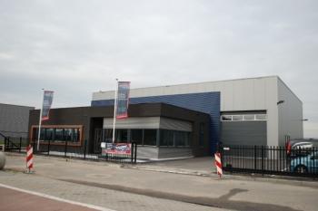 Nieuwbouw bedrijfspand te Oud-Gastel
