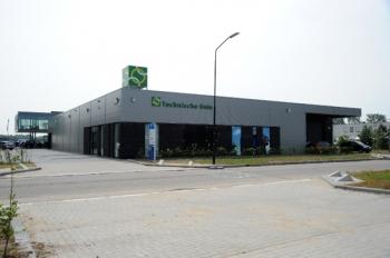 Nieuwbouw bedrijfspand te Roosendaal