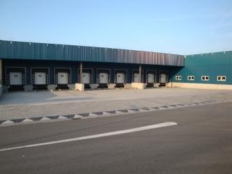 Nieuwbouw Dock Shelters te Roosendaal