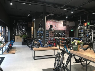 Verbouwing winkel te Etten-Leur