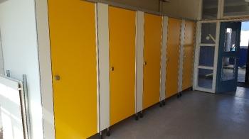 Renovatie toiletruimte JTC college te Roosendaal