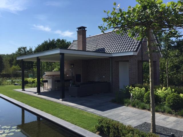 Garage Met Overkapping : Nieuwbouw garage met overkapping asr bouwbedrijf roosendaal
